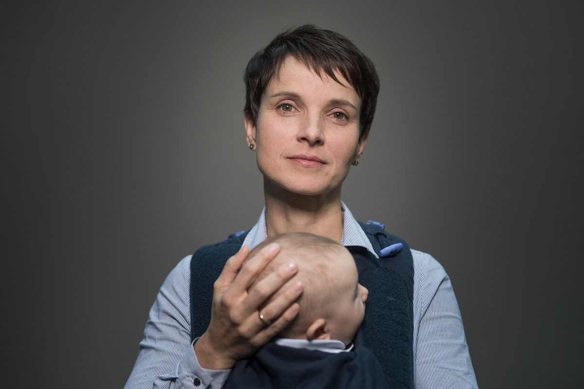 Kinder Frauke Petry