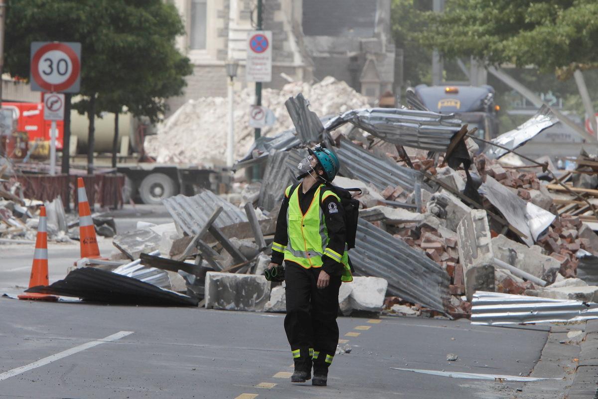 Noch ein schweres Beben vor Neuseeland