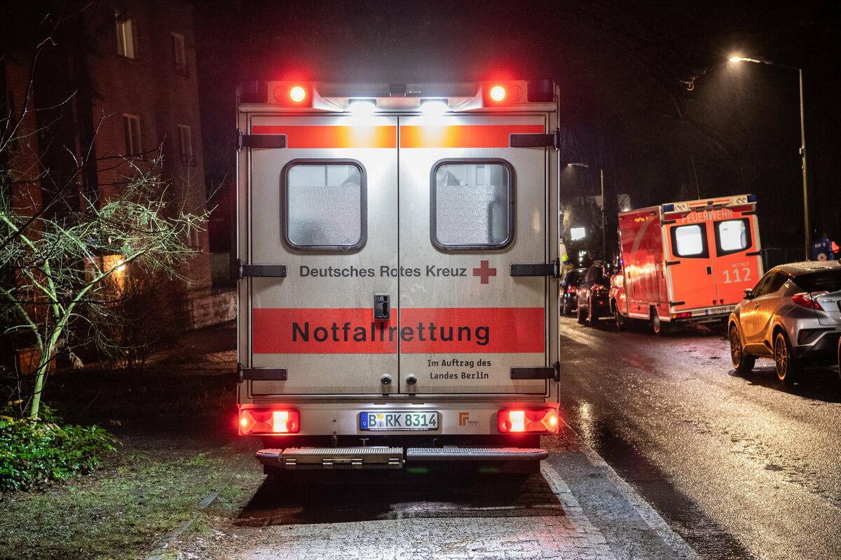 Toter nach Brand in Berliner Pflegeheim