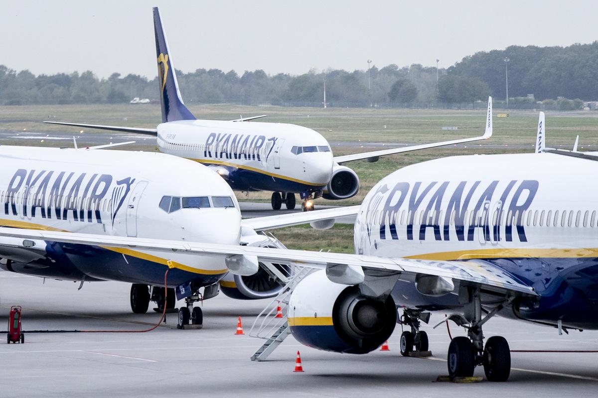 Abflug Ryanair