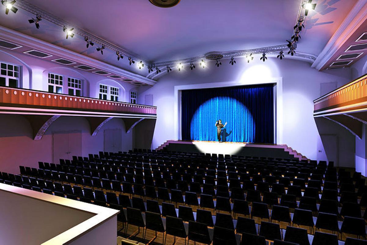Gute Nachrichten aus der – und für die – Kultur sind derzeit selten. In Großröhrsdorf wächst derzeit für sieben Millionen ein neues multifunktionales Veranstaltungszentrum. Mit einem spannenden Konzept!