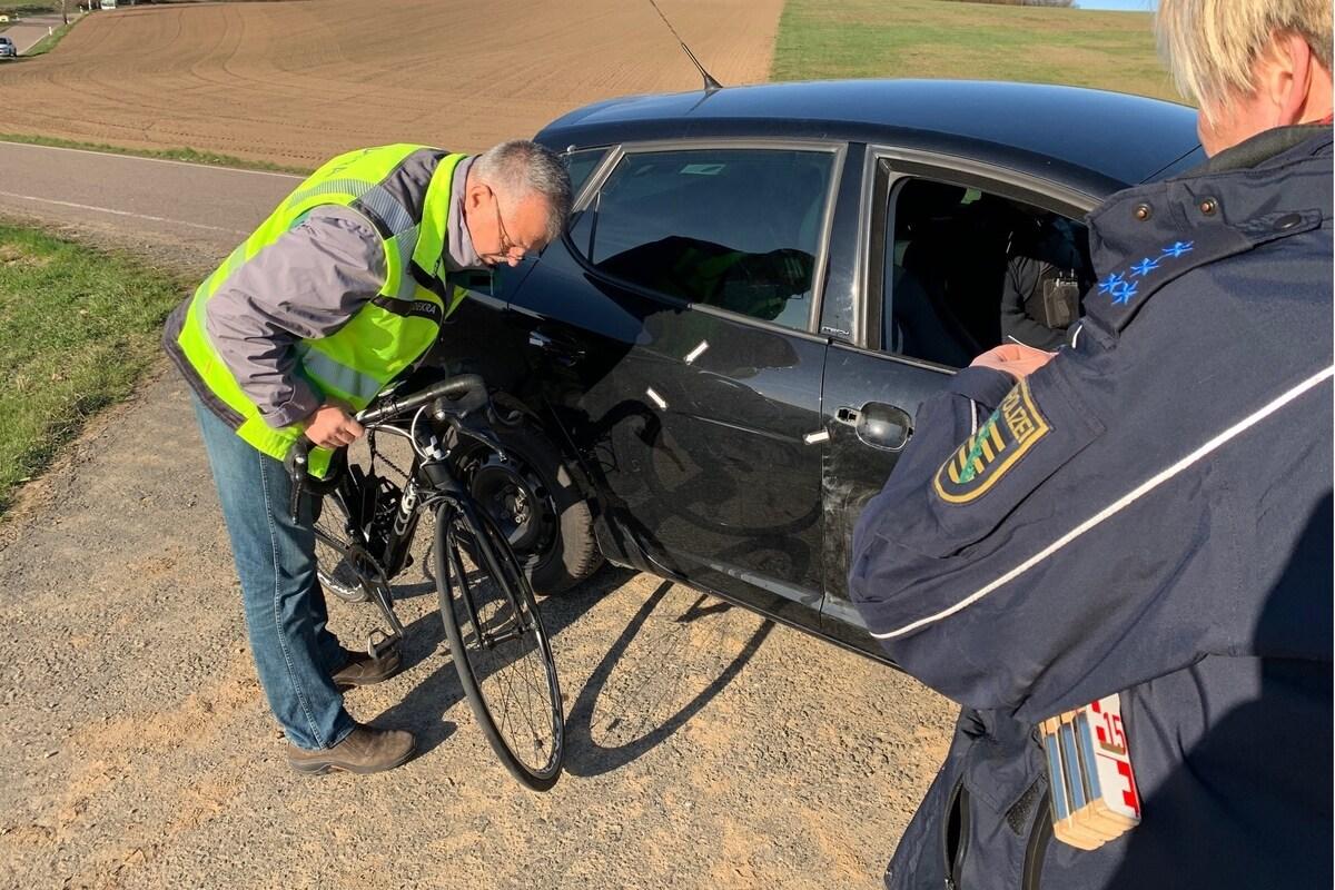Radfahrer Unfall