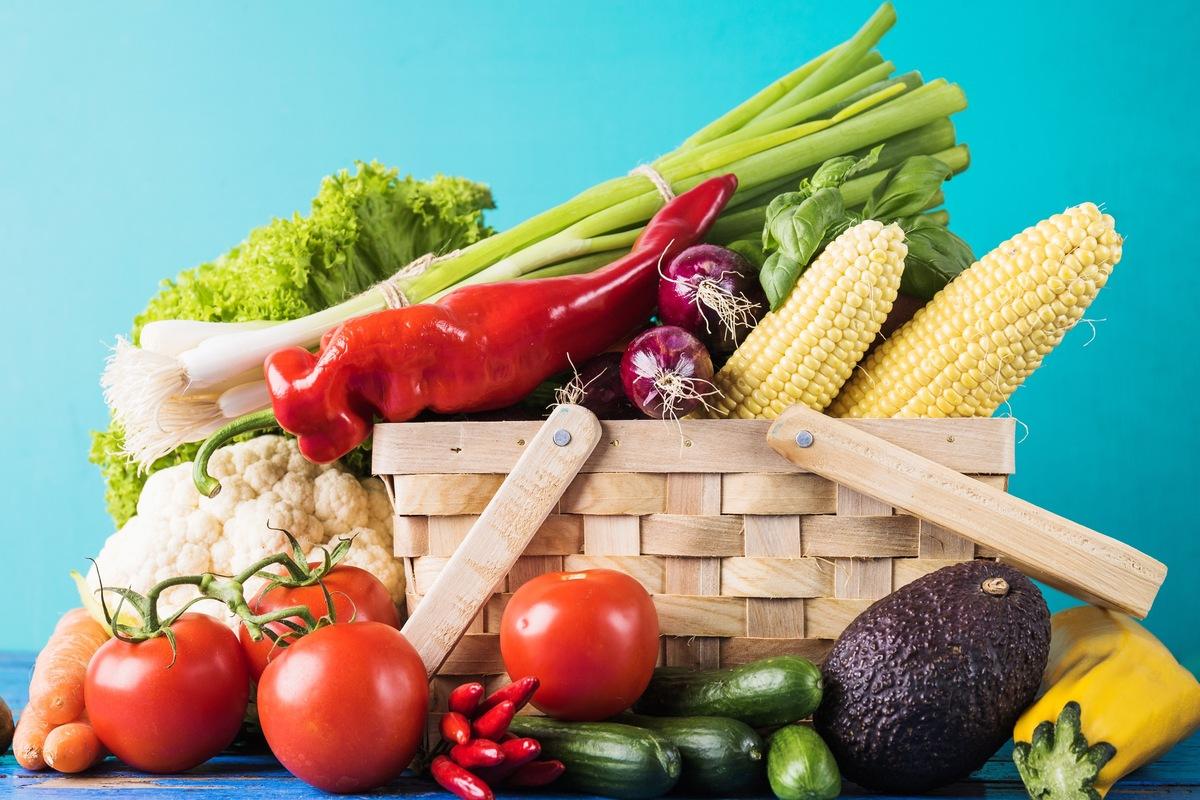 Obst und Gemüse sollten typenübergreifend auf den Speiseplan.
