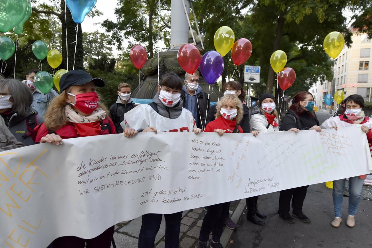 Kita Streik Chemnitz