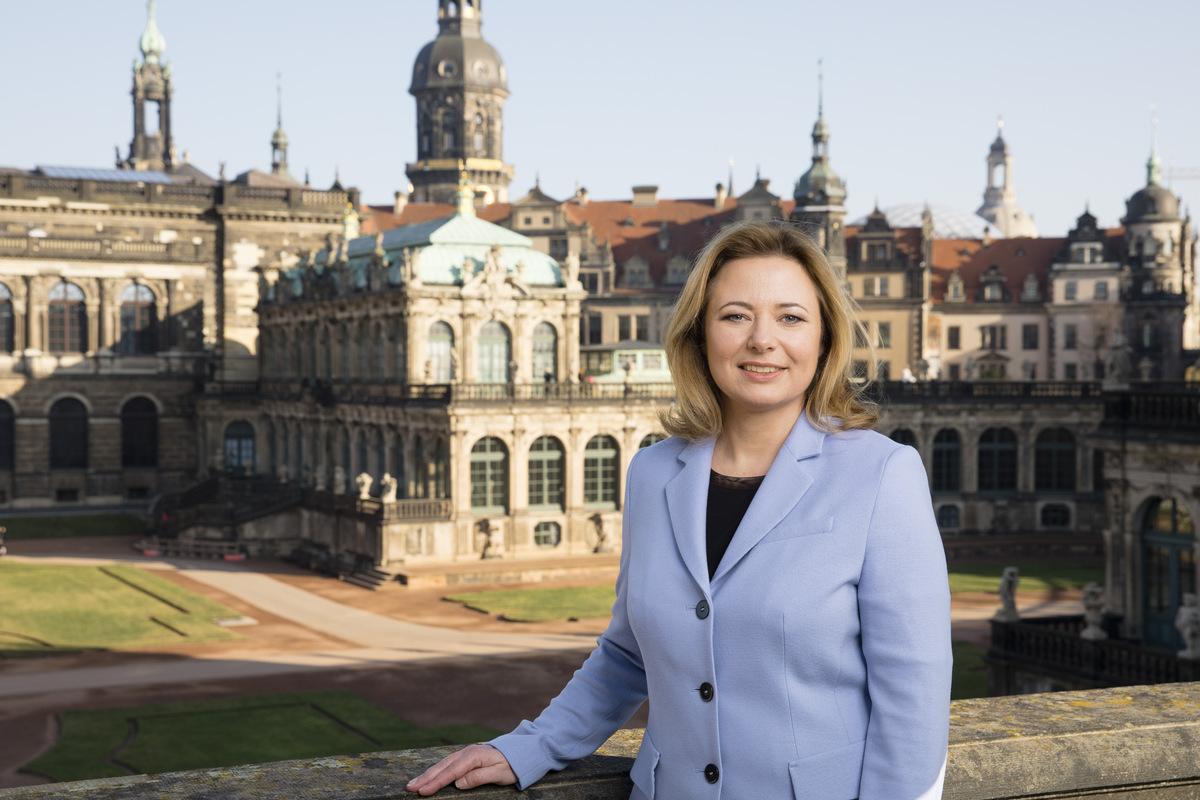 """Die Geschäftsführerin von Dresden Marketing, Corinne Miseer, will """"Vorfreude auf bessere Zeiten"""" machen."""