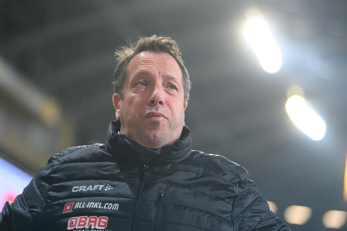 Bayern-Spiel ärgert Dynamos Trainer - Sächsische Zeitung