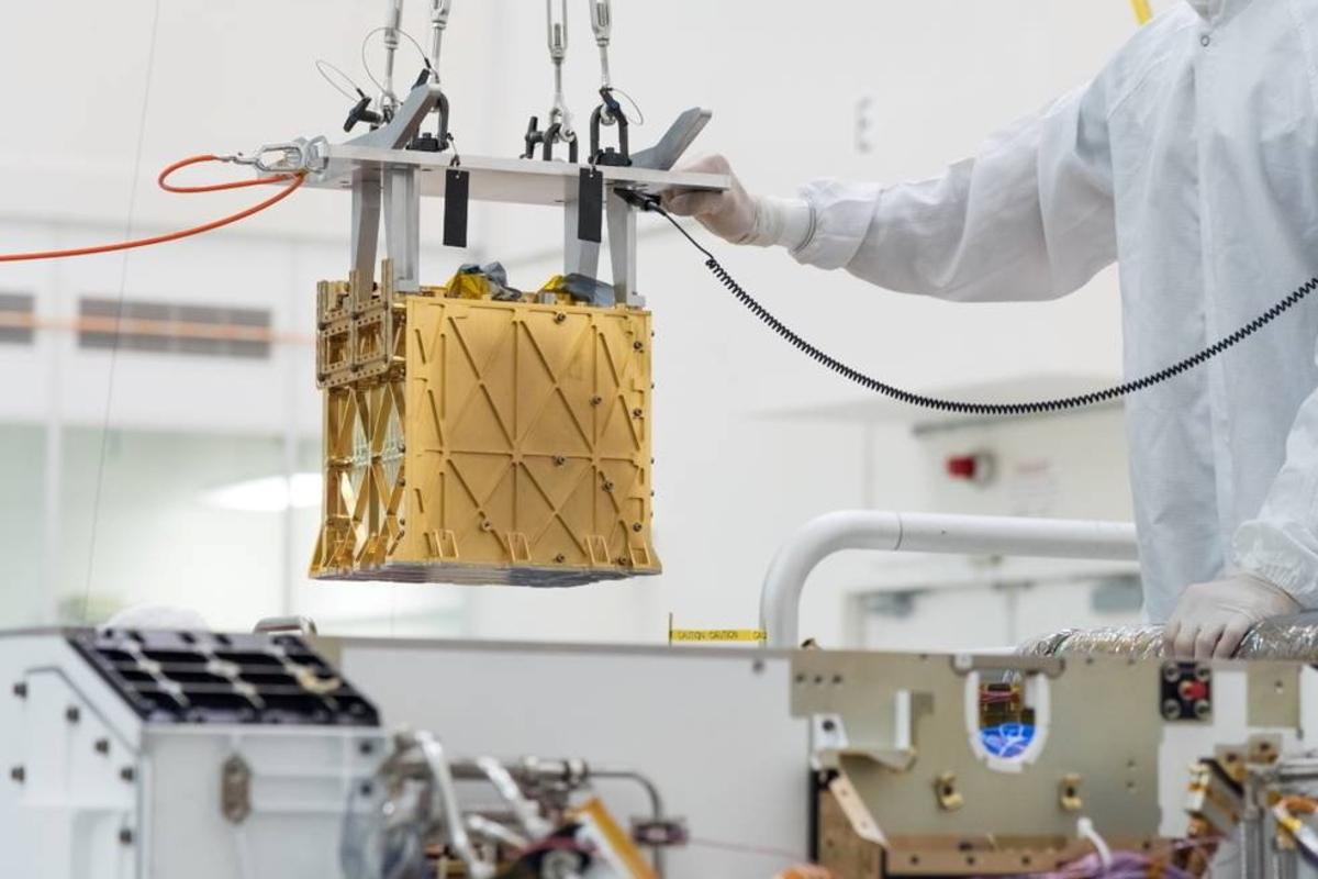 Rover gewinnt Sauerstoff auf dem Mars