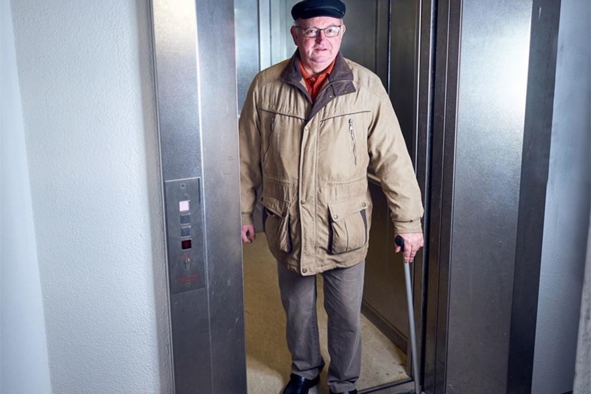 Prohliser Fahrstuhl Fahrt Wieder Sachsische De