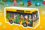 Bus-Kalender der DVB versüßt den Advent