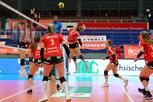 Punkten mit den DSC Volleyball Damen