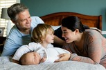 Vater, Mutter und Kinder