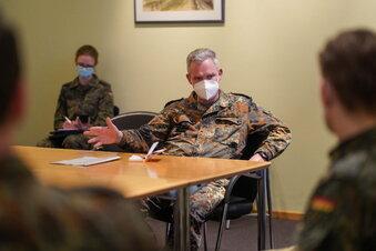 Bischofswerda: So kämpft die Bundeswehr gegen Corona