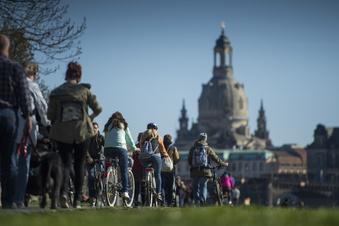 Dresden: Mehr Unfälle auf dem Elberadweg