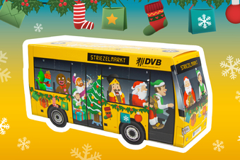 Bus-Kalender der DVB versüßt den Advent