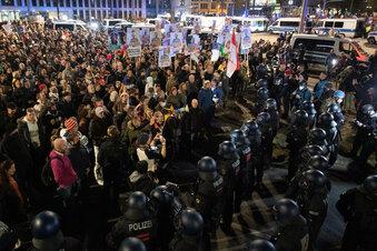 Corona-Demo in Leipzig hätte anders laufen können