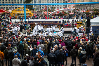 """Stollenfest abgesagt: """"Kein leichter Schritt"""""""