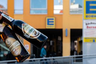 Edeka-Mitarbeiter fordern Alkoholverbot