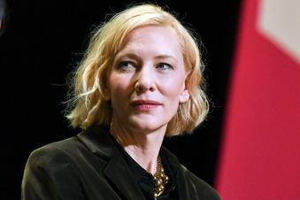 Hollywoodstar Cate Blanchett in Dresden