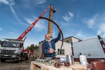 Döbeln: Storchen-Eigenheim wird renoviert