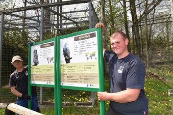 Wildpark öffnet am Montag wieder