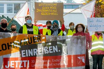 Streik bei Lausitzer geht weiter