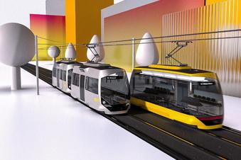 Straßenbahn-Weltpremiere für Dresden