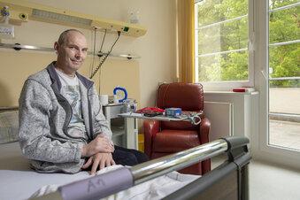"""Patient aus Frankreich: """"Ich bin noch am Leben"""""""