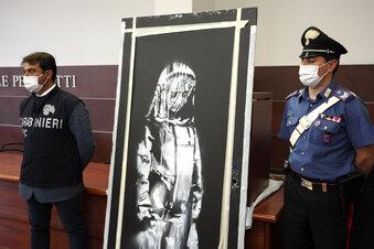 Geklaute Banksy-Tür: Verdächtige ermittelt