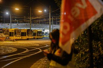 Dresden: DVB streiken am Donnerstag
