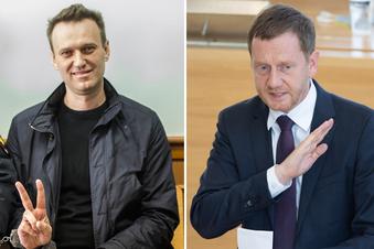 Fall Nawalny: Kretschmer fürchtet Konflikt