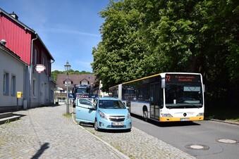 Busse statt Züge im Müglitztal