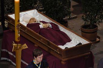 Der letzte Weg des Prager Altkardinals