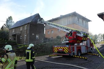 73-Jähriger bei Brand in Großschirma schwer verletzt