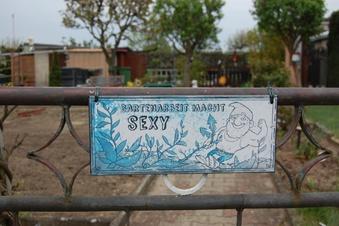 Ideensuche im Kleingartenlokal
