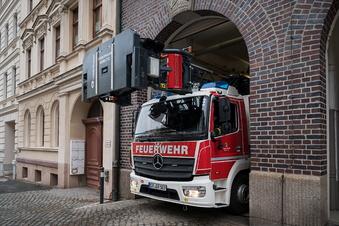 Unwetter: Görlitzer Feuerwehr beobachtet Neiße