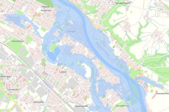 Wo die nächste Flut in Dresden wütet