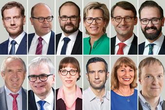 Das sind Sachsens neue Minister