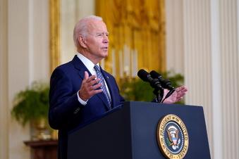 Biden: Afghanen müssen Taliban jetzt selbst bekämpfen