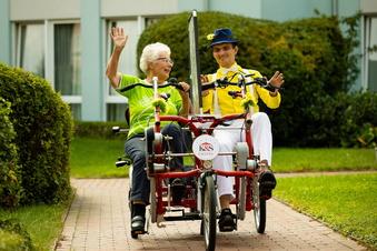 Mit Chauffeur zum SZ-Fahrradfest