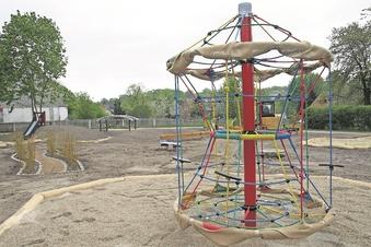 Bad Muskau hat neuen Spielplatz bald fertig