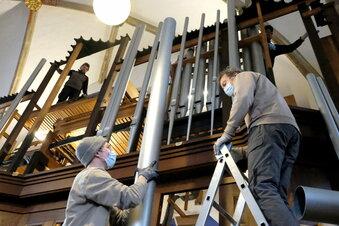 Meißner Frauenkirche hat ihre Orgel zurück