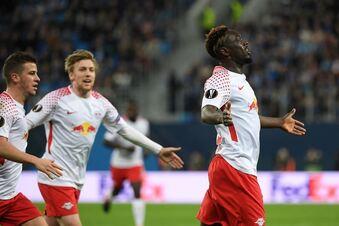 RB Leipzig steht im Viertelfinale