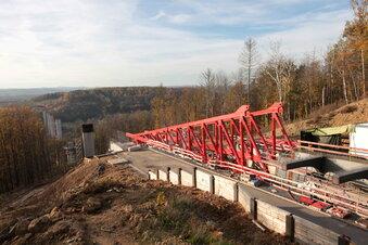 Südumfahrung Pirna: Brücke bewegt sich