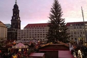 Dresdner Striezelmarkt eröffnet
