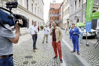 Warum der MDR in Görlitz ein Zelt aufstellt