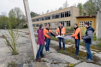 Löbaus Armeegebiet wird abgerissen