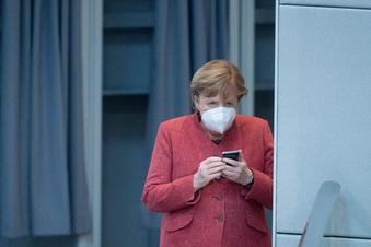 Wie gut kommuniziert Merkel die Krise?