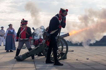 Kanonendonner auf der Festung Königstein