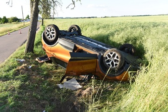 Döbeln: Senioren bei Unfall schwer verletzt