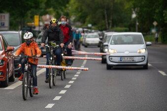 Corona: Deutlich mehr Radfahrer in Sachsen